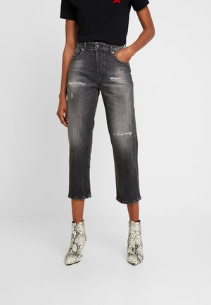 ARYEL - Straight leg jeans - black