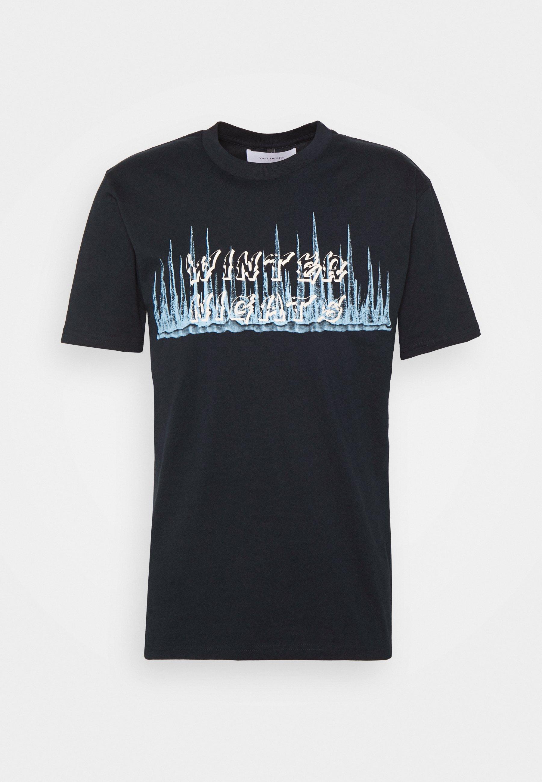 Men WINTER NIGHTS - Print T-shirt