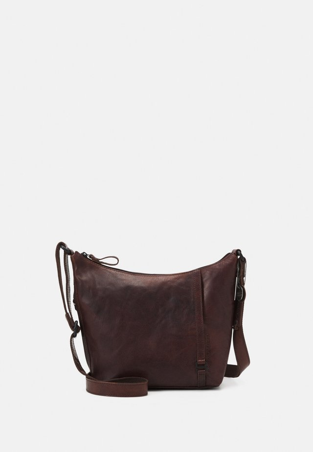 Sac bandoulière - dark brown