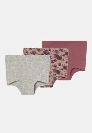 NMFTIGHTS FLOWER  3 PACK - Pants - deco rose