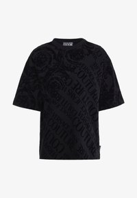 Versace Jeans Couture - BAROQUE  - T-shirt imprimé - black - 5