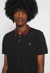 Vivienne Westwood - CLASSIC STRIPE COLLAR - Polo shirt - black - 6
