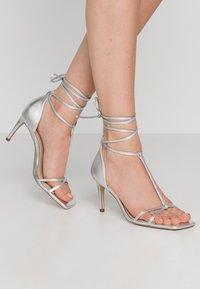Zign - Korolliset sandaalit - silver - 0