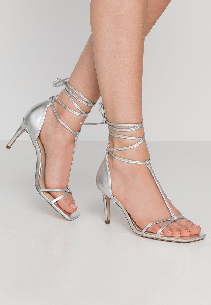 Zign - Korolliset sandaalit - silver
