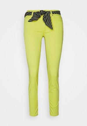 LULEA - Trousers - sunny lime