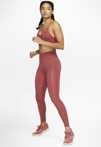 Nike Performance - ONE LUXE - Tights - dark red - 1