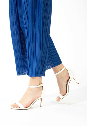 CELIA - High heeled sandals - white