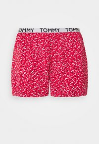Tommy Hilfiger - CAMI SHORT PRINT SET - Pyjamas - primary red - 4