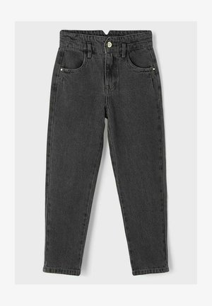BAGGY - Relaxed fit jeans - dark grey denim