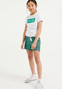 WE Fashion - T-shirt print - white - 0