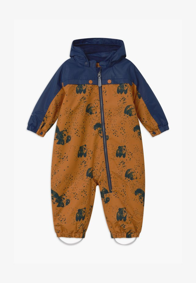 DOTS UNISEX - Snowsuit - honey ginger