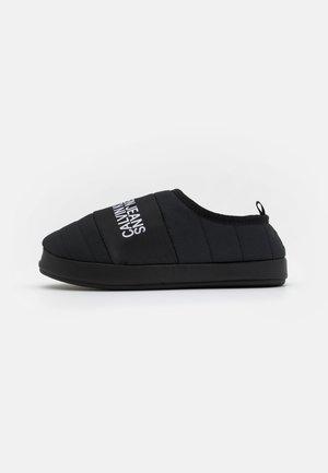 HOME SHOE SLIPPER WARM LINING - Pantoffels - black