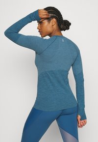 Sweaty Betty - ATHLETE SEAMLESS WORKOUT - Sports shirt - stellar blue - 2