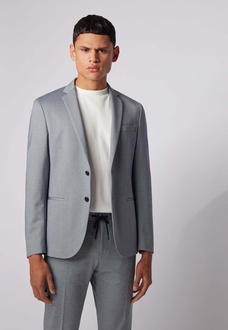 BOSS - Blazer jacket - blue