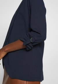 TOM TAILOR DENIM - WITH TURN UP - Blazer - real navy blue - 4