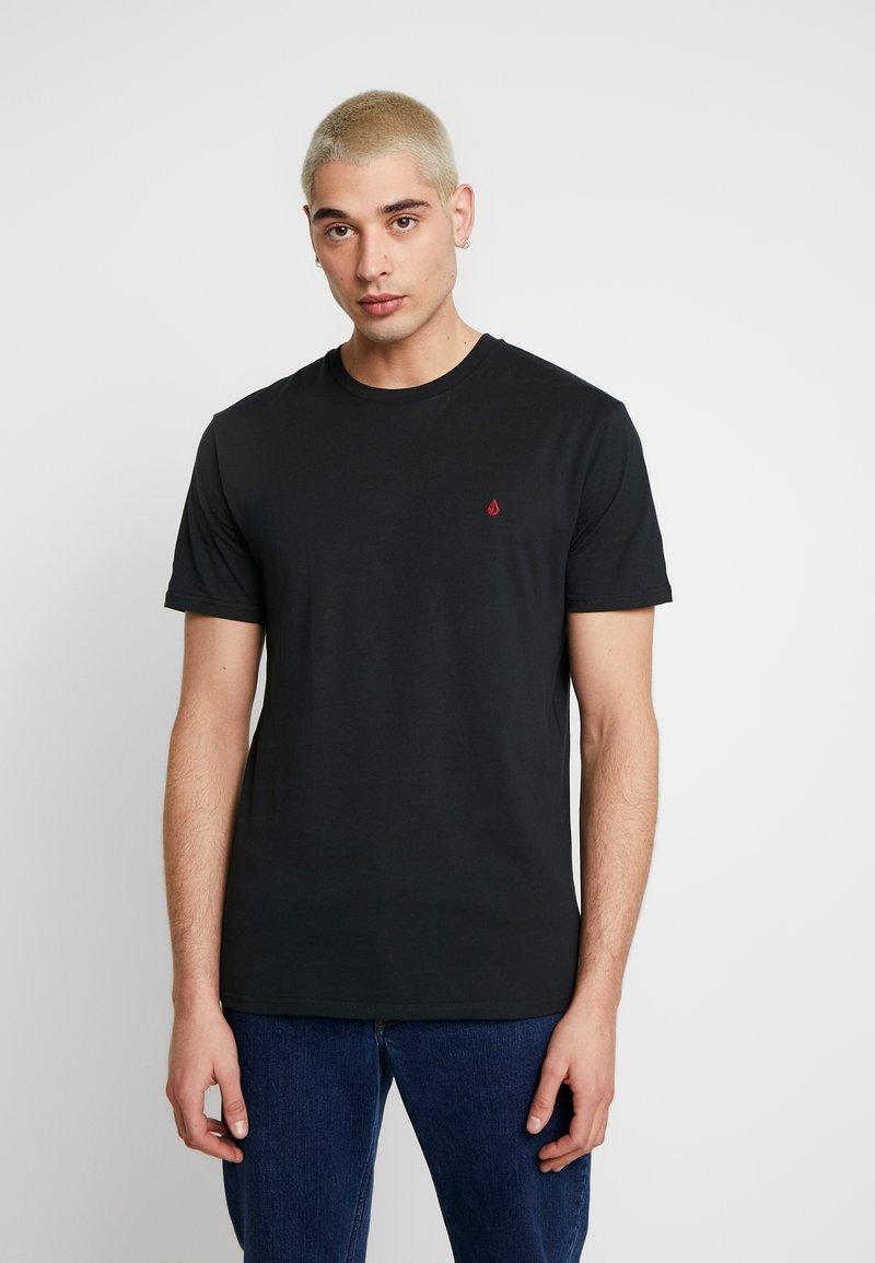 Volcom - STONE BLANKS  - Basic T-shirt - black