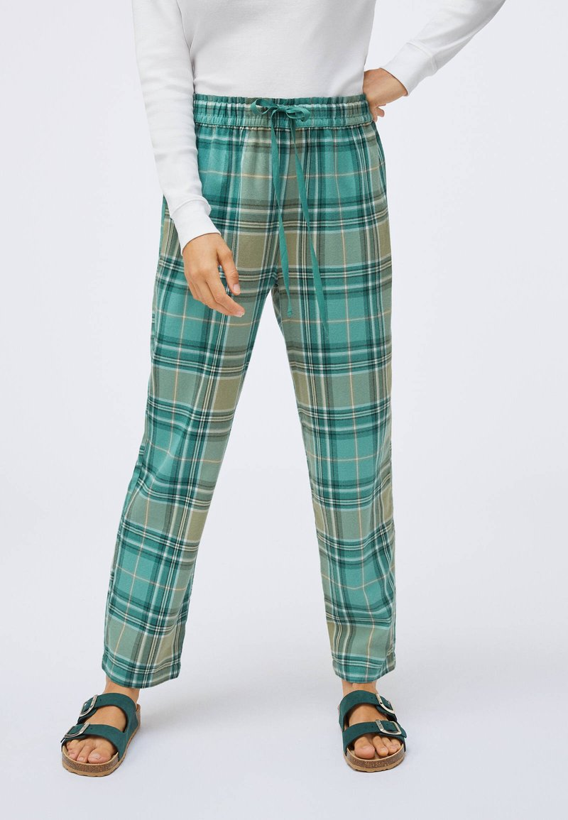 OYSHO - Pyjama bottoms - evergreen