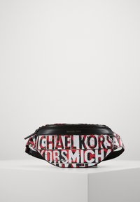 Michael Kors - GREYSON SMALL HIP BAG UNISEX - Ledvinka - black - 2