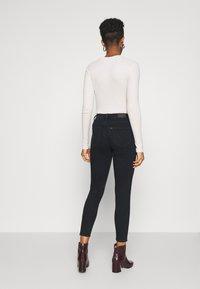 Lee - SCARLETT HIGH ZIP - Jeans Skinny Fit - dark icon - 2