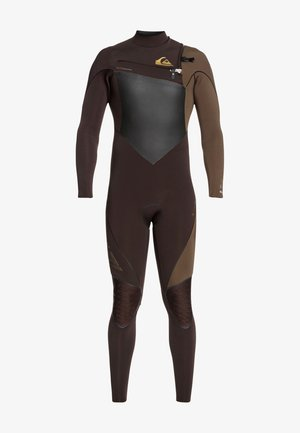 4/3MM HIGHLINE PLUS - Wetsuit - velvet brown/ dark beech