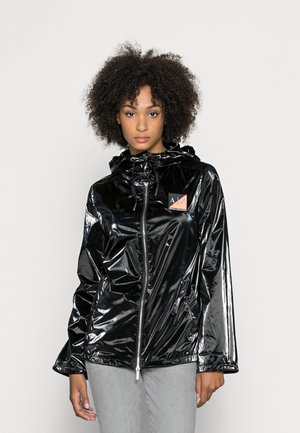 BLOUSON IRIDESCENT COATED  - Summer jacket - black