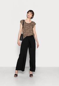 edc by Esprit - PANTS WOVEN - Trousers - black - 1