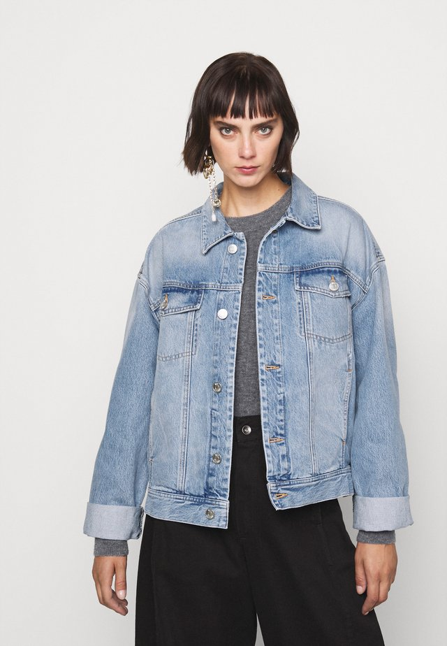 VILDA - Veste en jean - wash six