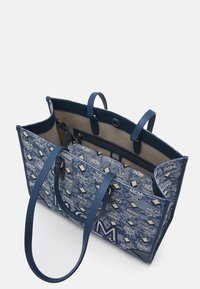 MCM - VINTAGE TOTE LARGE SET UNISEX - Handbag - blue - 2