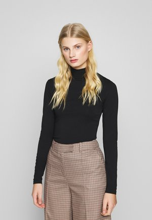 CECILE - Long sleeved top - black