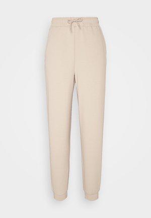 ONPLOUNGE PANTS - Tracksuit bottoms - beige