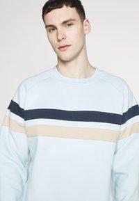 Bellfield - CUT AND SEW CREW NECK - Sweatshirt - pale blue - 4