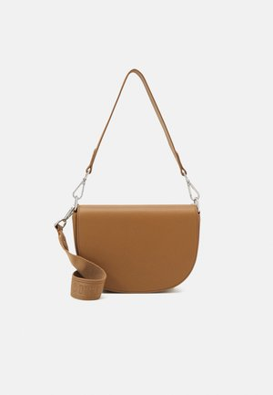 LISKA - Across body bag - caramel brown