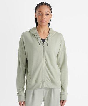 Zip-up sweatshirt - seagrass