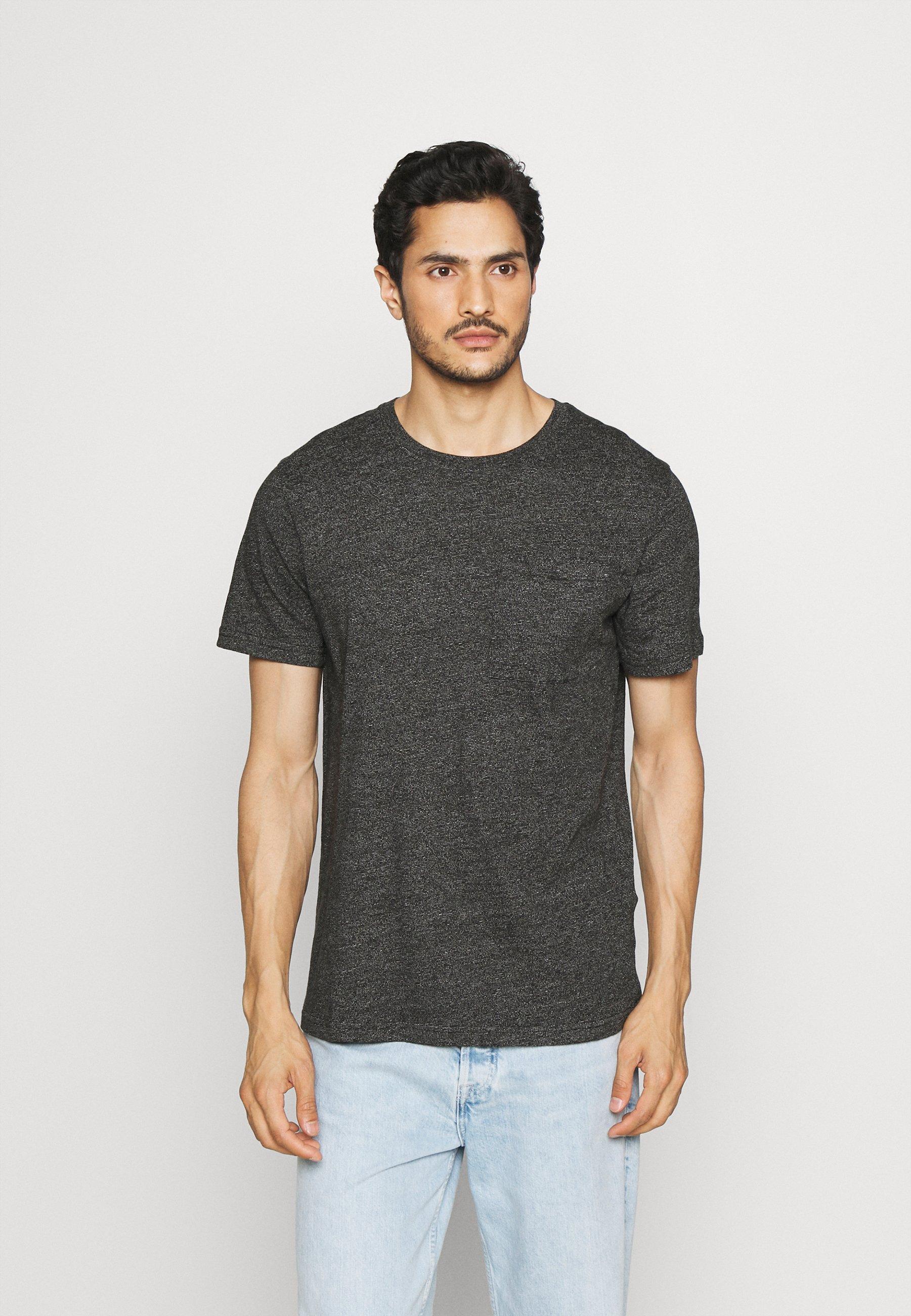 Homme SLHDECKER O NECK TEE - T-shirt basique