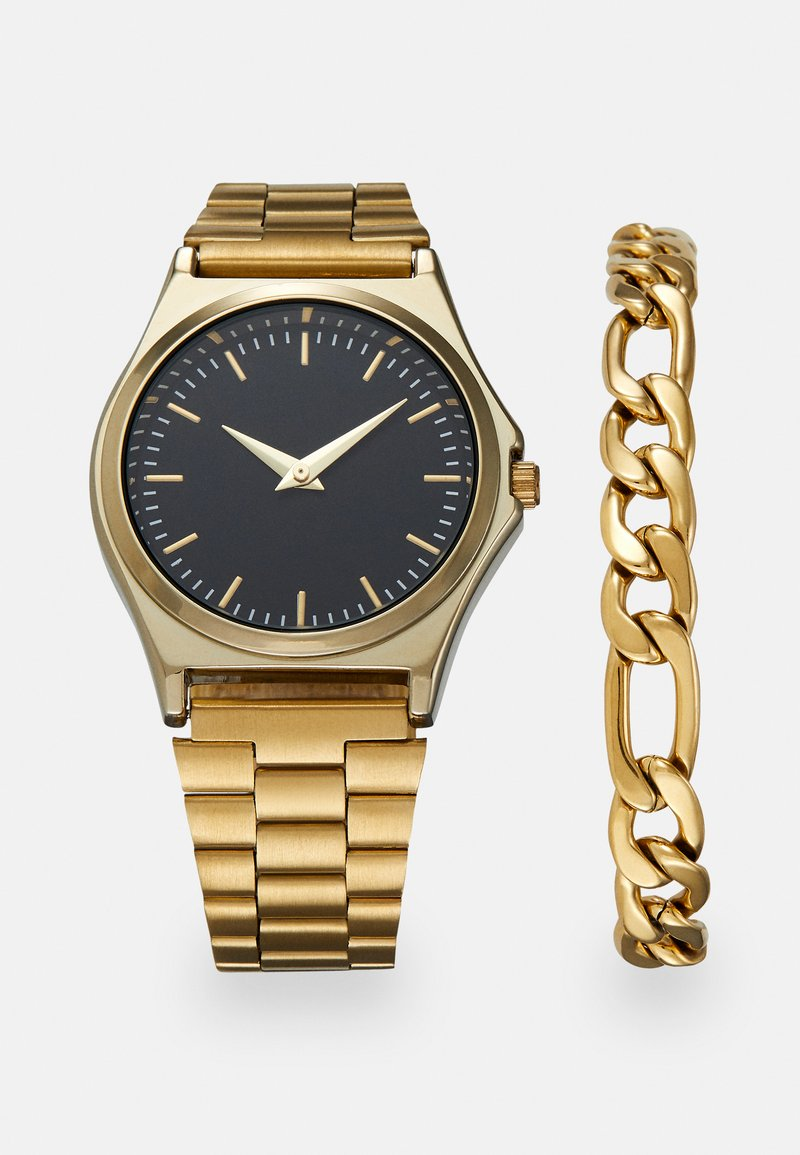 Pier One - SET - Watch - gold-coloured