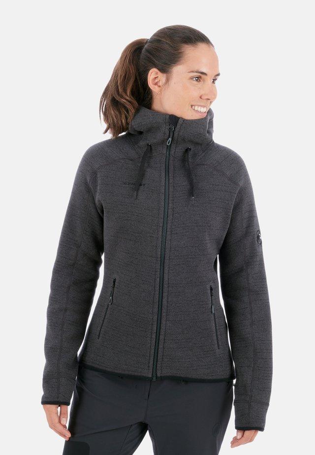 ARCTIC  - Fleece jacket - phantom-black melange