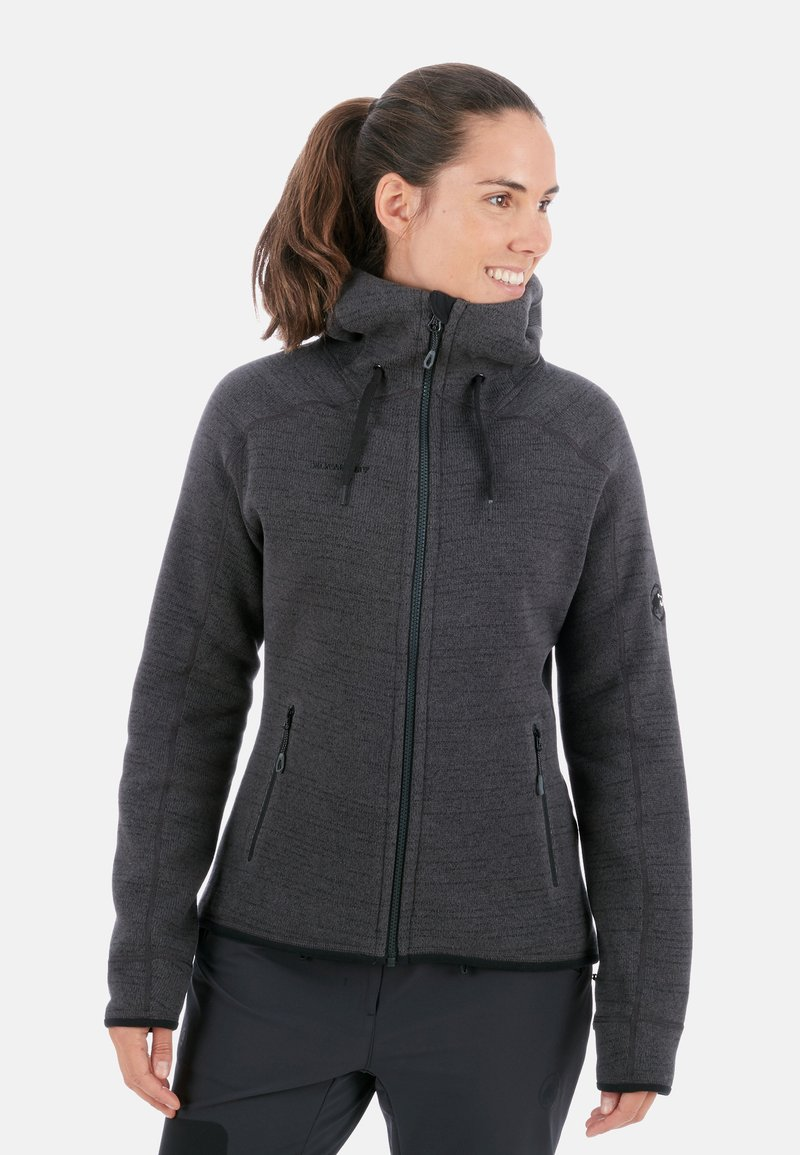 Mammut - ARCTIC  - Fleece jacket - phantom-black melange