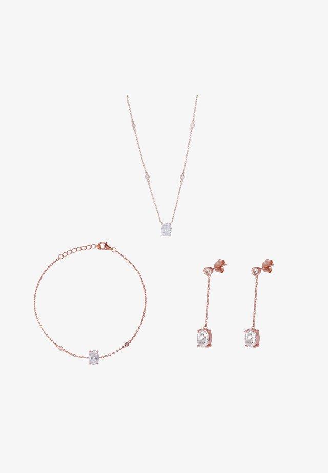 ALOYSE - Boucles d'oreilles - rose gold-coloured