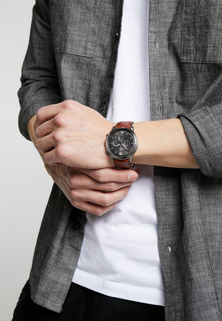 Fossil - NEUTRA - Chronograph watch - braun