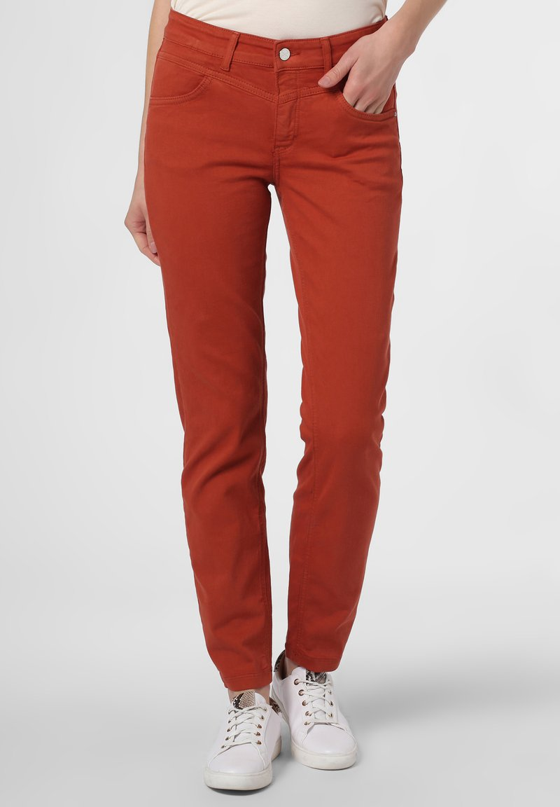 MAC Jeans - Trousers - terra