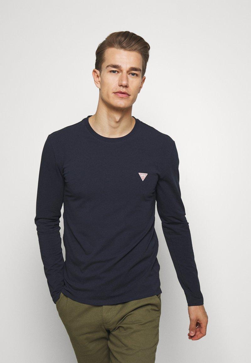 Guess - CORE TEE - Maglietta a manica lunga - blue navy