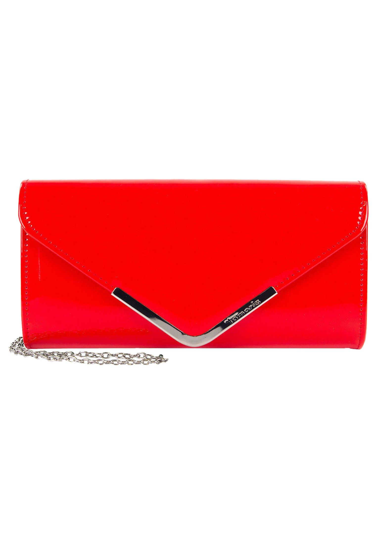 AMALIA Clutch red lack 699