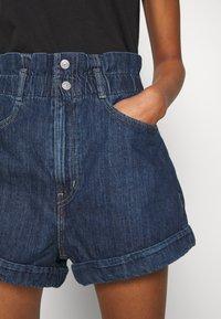 Levi's® - HR PAPERBAG SHORT - Jeans Short / cowboy shorts - fused - 4