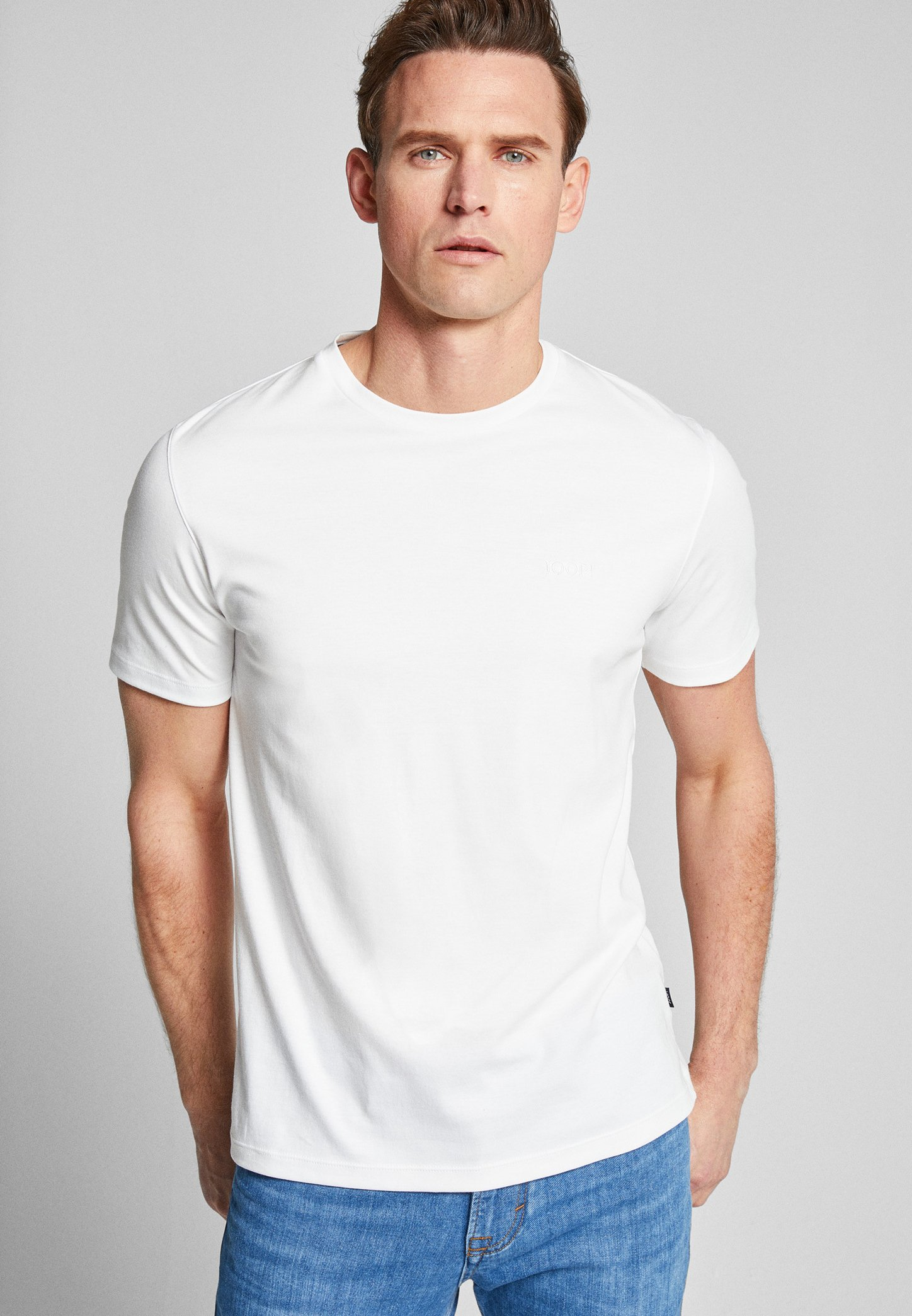 Men CORRADO - Basic T-shirt - white
