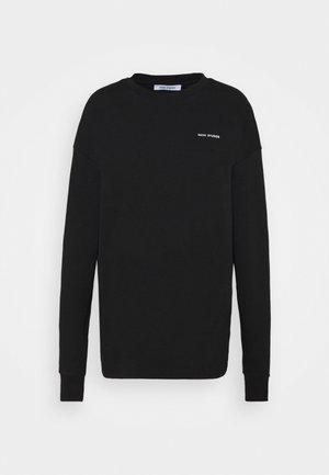 LOGO LONGSLEEVE - Long sleeved top - black