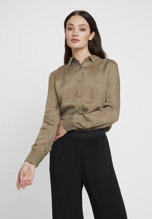 NONOGARDEN - Button-down blouse - sauge