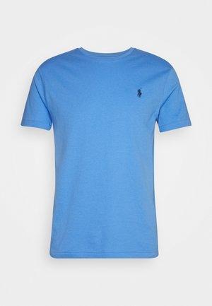 CUSTOM SLIM FIT CREWNECK - T-shirt - bas - harbor island blue