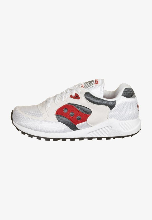 JAZZ 4000 - Sneakers laag - white/grey/red