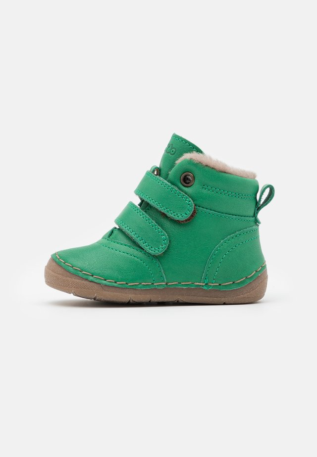 PAIX SHOES WIDE FIT UNISEX - Baby shoes - green