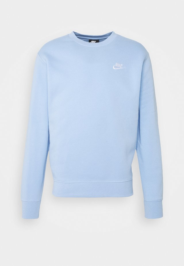 CLUB - Sweatshirt - psychic blue/white
